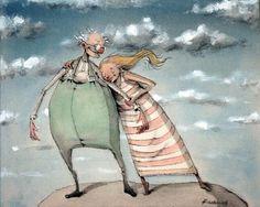 Bestefar! av Lisa Aisato Children's Book Illustration, Book Illustrations, Love Art, Drawing S, Childrens Books, Fairy Tales, Character Design, Poster, Artsy