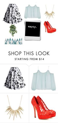 """""""Untitled #306"""" by cj34turtles ❤ liked on Polyvore featuring Elizabeth and James, Alexis Bittar and Dolce&Gabbana"""