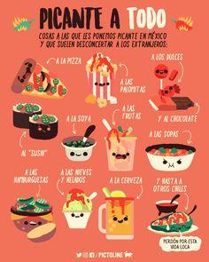 Learn Spanish Quickly Student Key: 5779943372 Food Vocabulary, Mexico Culture, Spanish Alphabet, Spanish Food, Learn Spanish, Food Facts, Mexican Style, Food Humor, Teaching Spanish