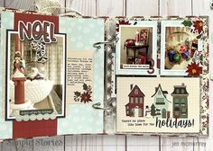 Celebrate the Season! by Jen McMurtrey – Simple Stories Christmas Mini Albums, Christmas Minis, Vintage Christmas, Jingle All The Way, Simple Stories, December Daily, Flip Books, Things To Come, Seasons