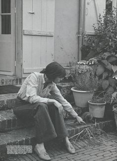 """""""It's funny to hear that I'm a style icon, because there's no effort"""" - Charlotte Gainsbourg"""