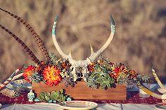southwestern wedding designed by Primary Petals and shot  by Lukas & Suzy VanDyke Photography - Southwest Inspiration