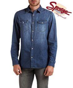 [NUOVA collezione]  Camicia di jeans JACK & JONES  #NuovaCollezione #NewCollection #SpagoAbbigliamento #camicia #shirt #jeans #jackjones #jackandjones #Autumn16 #AbbigliamentoUomo #AbbigliamentoRavenna #Accessori Ravenna RavennaToday Abbigliamento #MaximumSocial