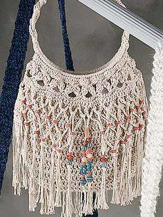 Ravelry: Beaded Bag & Belt pattern by Elizabeth Ann White