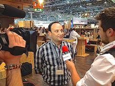 schuhplus trifft Michael Weyergans von Camel Active auf der GDS - #gds #gdssoesfair  #schuhplus #gds2014 #schuhe #schuhmesse #düsseldorf