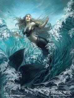 Mermaid Artwork, Mermaid Drawings, Mermaid Paintings, Mermaid Images, Mermaid Pictures, Fantasy Mermaids, Mermaids And Mermen, Real Mermaids, Pretty Mermaids