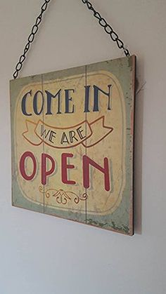 REVERSIBLE COME IN WE ARE OPEN SIGN SORRY WE ARE CLOSED CHIC N SHABBY SHOP SIGN Jones Home and Gift http://www.amazon.co.uk/dp/B01CKKD9WS/ref=cm_sw_r_pi_dp_yyH3wb1QSC7K6