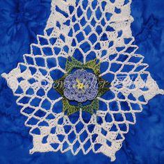 Blue Flax Snowflake