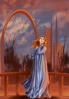 Drama Girl by Pyracantha Sansa Stark, Steampunk, Princess Zelda, Disney Princess, My Books, Disney Characters, Fictional Characters, Sci Fi, Fan Art