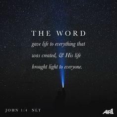 John 1:4 NLT AiR1