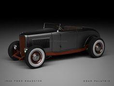 A Garagem Digital de Dan Palatnik | The Digital Garage Project: 1932 Ford Roadster WIP I
