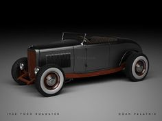 A Garagem Digital de Dan Palatnik | The Digital Garage Project: 1932 Ford Roadster WIP I