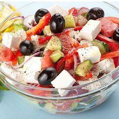 Greek Salad para bajar de peso y deshinchar el vientre