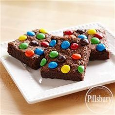 Rainbow Brownies from Pillsbury® Baking