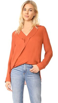 Rita Blouse in Baked Clay by L'Agence
