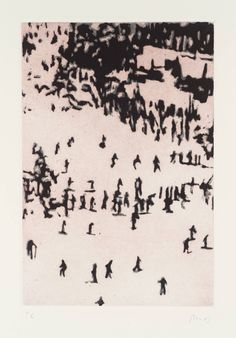 View Untitled by Peter Doig on artnet. Browse upcoming and past auction lots by Peter Doig. Peter Doig, Chelsea School Of Art, Contemporary Printmaking, World In Motion, Printed Portfolio, Etching Prints, Sad Art, Art Plastique, Painting & Drawing