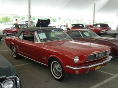 W341 Ford 1966 Mustang Convertible 6F08T3558261 900 620x465 Mecum Original Spring Classic 2012 Auction Report