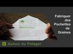 La fabrication de pochettes / sachets en papier pour vos graines