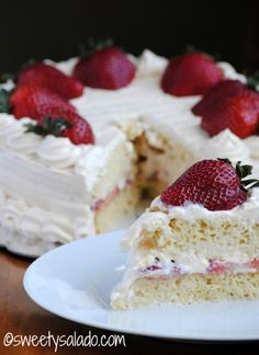 Tres Leches Cake With Arequipe Whipped Cream - Hispanic Kitchen