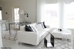 Black&White Living room - Home White Home