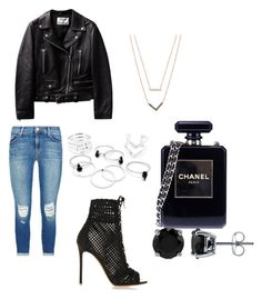 """Untitled #1"" by lexi-br on Polyvore featuring J Brand, Chanel, Michael Kors, BERRICLE, Gianvito Rossi, women's clothing, women, female, woman and misses"