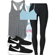 A fashion look from March 2014 featuring Acne Studios tops, Under Armour activewear pants and Victoria's Secret sports bras. Browse and shop related looks.