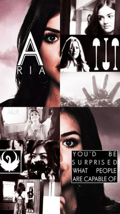 Teoría Aria IS A .. Pretty Little Liars