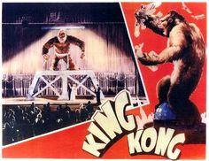 Fay Wray and King Kong in King Kong (1933)