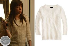 Shop Your Tv: Orphan Black: Season 1 Episode 3 Alison's White Cable Knit Sweater