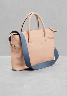 & Other Stories | Leather Carry All Bag