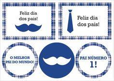 Festa para imprimir: Dia dos Pais - Constance Zahn