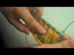 ▶ Slipped Stitch Colorwork - YouTube