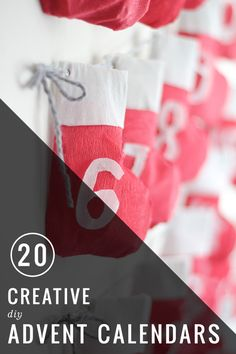 20 Creative DIY Advent Calendars | Henry Happened