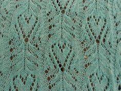 Ravelry: Hidden Hearts Lace Shawl pattern by Melody Hadley