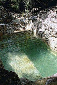 Sandpoint, Idaho spa pool...um, yes please.
