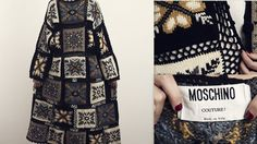 Free EMS Shipping  MOSCHINO Couture Vintage by LaChouetteSage
