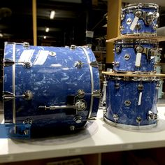 Navy Diamond Best Drums, How To Play Drums, Drum Sets, Double Bass, Snare Drum, Beautiful Guitars, Percussion, Jazz, Workshop