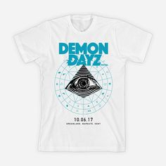 b44c3d1f4 Demon Dayz Festival White T-Shirt. G Foot Store, home to the G Foot capsule  collection, Gorillaz tour merchandise and the Demon Dayz Festival  collection.