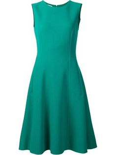 VESTIDO EVASE CREPE - Shoulder Casual Dresses, Short Dresses, Fashion Dresses, Lovely Dresses, Vintage Dresses, Gaun Dress, Classy Suits, Only Shirt, Special Dresses