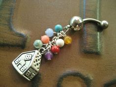 Up House Belly Button Ring Balloon Navel Piercing by Azeetadesigns, $18.00