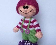 Gnome - amigurumi PDF crochet pattern