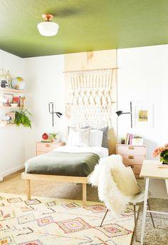 Schlafzimmer einrichten: Grün