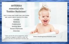 dōTERRA essential oils for Toddlers - Healing in Our Homes