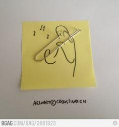 Musical Post-it