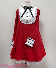 Angelic Pretty Vintage カットワンピース