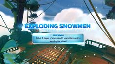 """Lias and I are back to take a look at the Arena in Skylanders Swap Force. Today we are playing """"Exploding Snowmen"""". It's another level on the Frost Elve. Skylanders Swap Force Characters, Snowmen, Elves, Frost, Battle, Survival, Ship, Videos, Snowman"""
