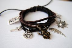 Dean Winchester Bracelet Supernatural Inspired by TheBeeeHive