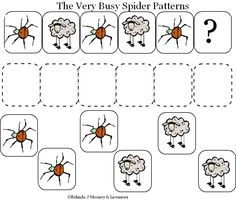 21 Best The Very Busy Spider Early Learning Activities