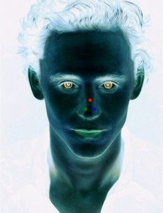 Look at any point 15 seconds then look at the wall . You will see tom