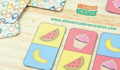 Printable domino for children